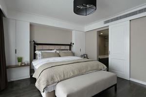 卧室 简约 局部其他 一居室装修