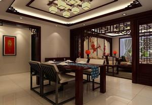 餐厅 中式 局部其他 一居室装修