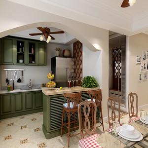 小户型厨房吧台装修效果图