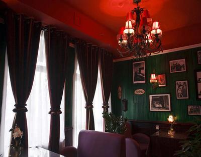 咖啡厅窗帘效果图大全
