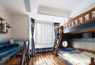 地中海風兒童臥室效果圖