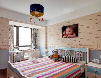 簡約兒童臥室裝修效果圖