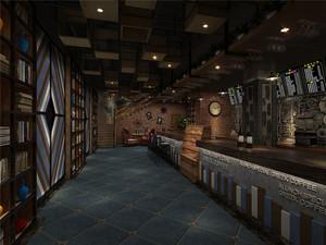 咖啡厅店面装修设计效果图