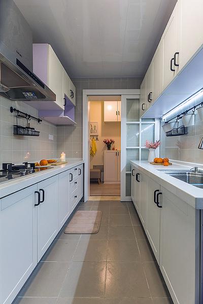 現代簡約風格廚房設計效果圖