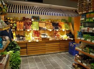 水果店铺装修图片