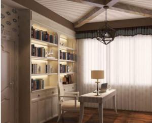 温馨单身公寓阁楼装饰效果图
