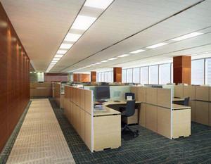 商业写字楼办公区域装修效果图