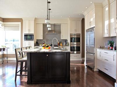 現代簡約風格廚房設計圖