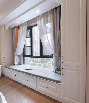 现代风格三居室飘窗设计效果图