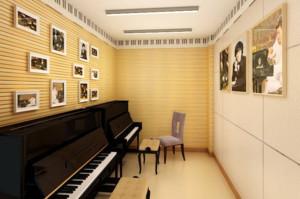 钢琴学校装修效果图赏析