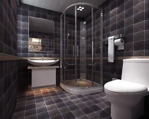 卫生间瓷砖装修深色系列赏析