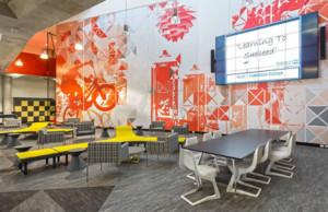 学校文化墙设计效果图赏析