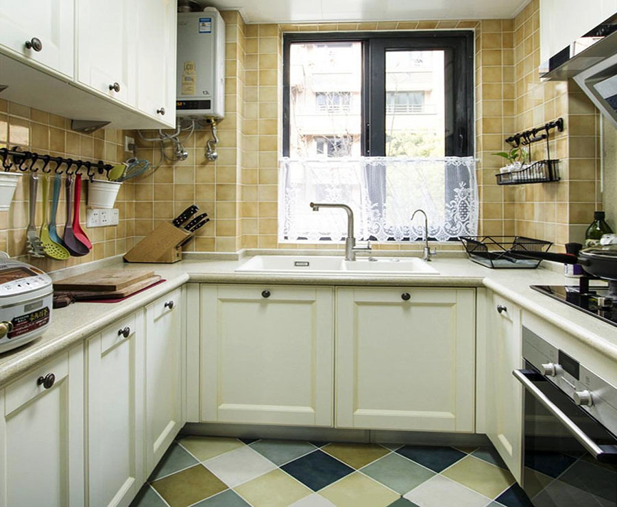 精装厨房装修效果设计图