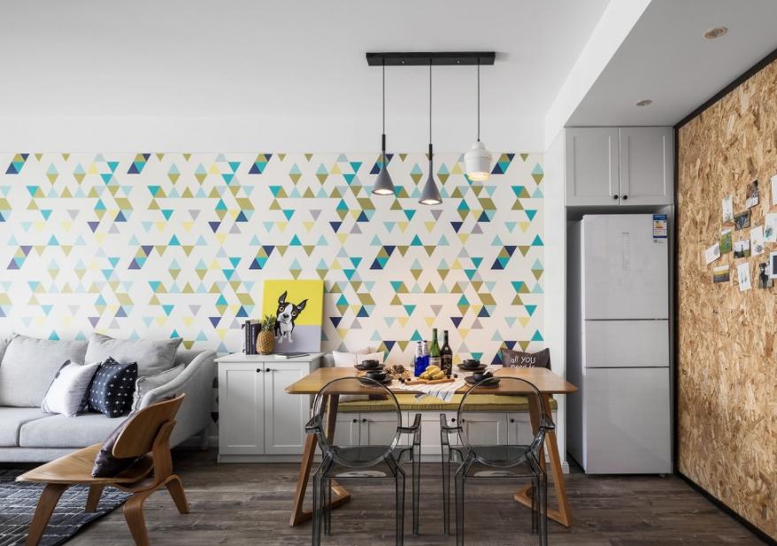 混搭小居室餐厅装修效果图