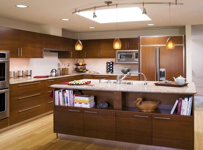 厨房装修布局效果图
