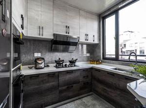 厨房橱柜整体装修效果图