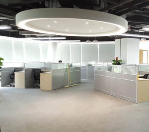 100平写字楼办公室装修效果图
