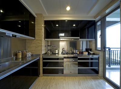 現代簡約廚房設計效果圖