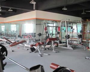 200平现代简约健身房装修设计效果图