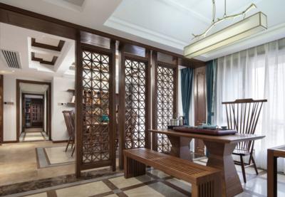 250平米中式茶樓設計圖