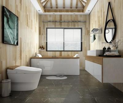 日式风格别墅卫生间装修