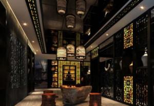 中式古典风格茶楼装修效果图