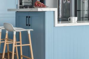 北欧风格四居厨房吧台装修效果图