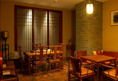 中式風格茶樓設計圖片