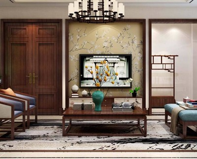 别墅地下室会客厅效果图