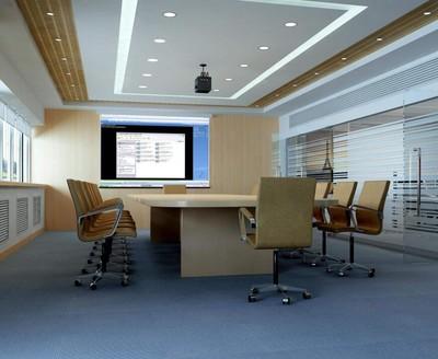 办公室会客厅装修效果图
