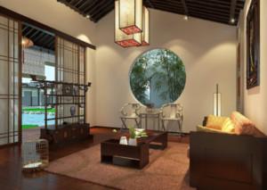 中式茶楼设计装修效果图