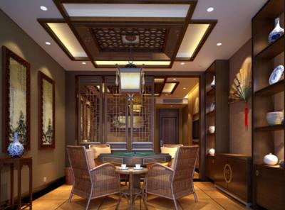 新中式風格茶樓設計圖賞析