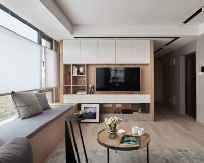 北欧风格会客厅装修效果图