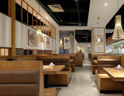 300平米日式风格餐厅装修效果图