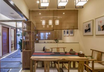中式風格茶樓裝修設計