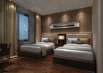 宾馆卧室装修设计效果图