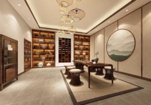 日式风格茶楼装修设计