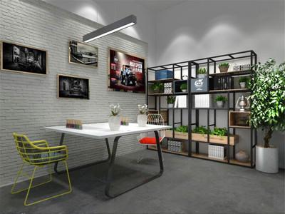 小型办公室装修实景图欣赏