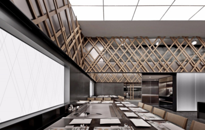 600平米日式餐厅装修效果图