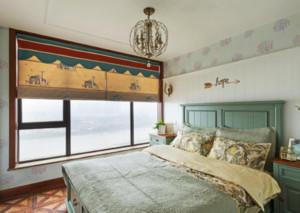 卧室 美式 背景墙 大户型装修