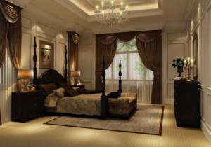 卧室 欧式 背景墙 别墅装修