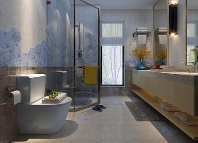 北欧风格卫生间装修设计效果图