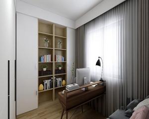 书房 精致 局部其他 三居室装修