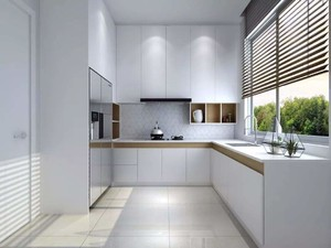 厨房 现代 局部其他 大户型装修