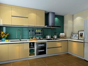 歐式風格廚房裝修設計圖