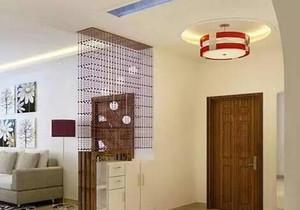 客厅 中式 玄关 小户型装修