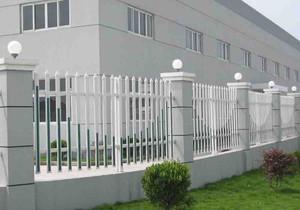 砖砌工业厂房围墙效果图