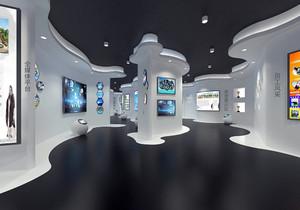 广告公司展厅装修效果图