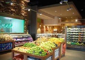 精品水果超市的装修效果图
