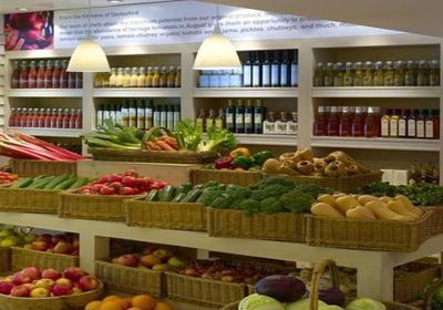 50平蔬菜超市装修效果图